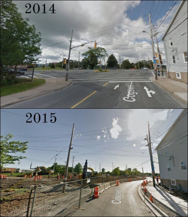 Cogswell Street comparison Halifax