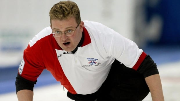 Mike Harris, who won an Olympic silver medal in curling in Nagano, Japan in 1998 and made his only Brier appearance in Saskatoon in 2004, is competing in the southern Ontario playdowns.