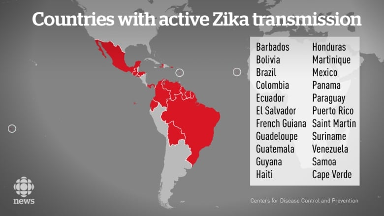 Zika Virus What Canadian Travellers Need To Know Cbc News