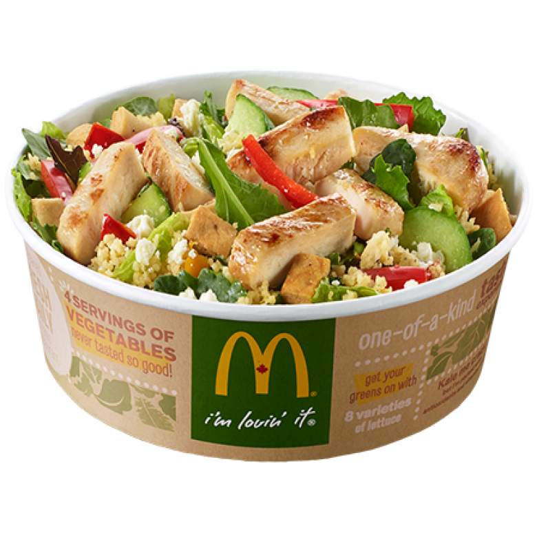 Tasty Fast Food Salads