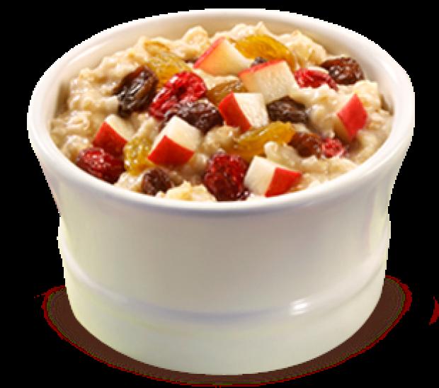 McDonald's oatmeal