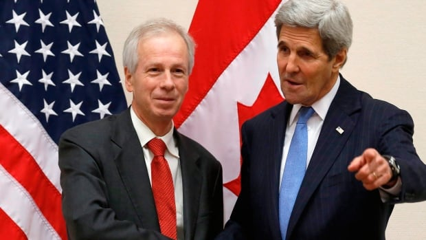 Foreign Affairs Minister Stéphane Dion and U.S. Secretary of State John Kerry will meet with their Mexican counterpart in Quebec City on Friday.