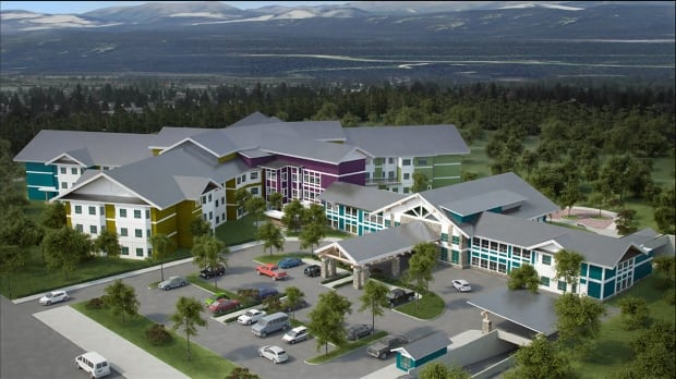 Design of Whistle Bend continuing care facility