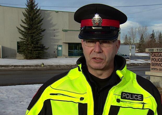 Calgary police Staff Sgt. Paul Stacey