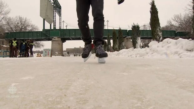 Skaters will soon have a lot more trail to try out along the Red River in Winnipeg.