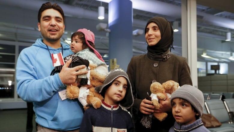 CANADA-SYRIA/MIGRANTS