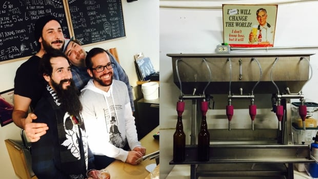 Just two years since incorporating, the founders of the Dandy Brewing Company are welcoming visitors to their brewery's taproom in northeast Calgary.