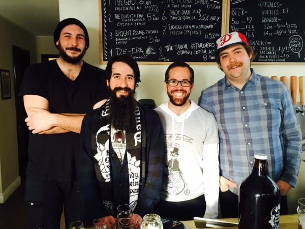 Dandy Brewing Company founders