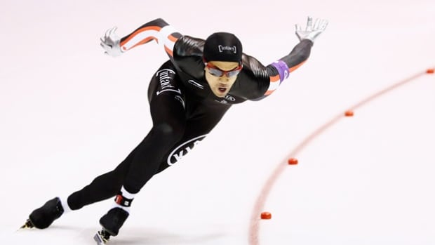 Gilmore Junio of Calgary finished .001 second ahead of his Canadian teammate Laurent Debreuil but just missed the podium at a World Cup speed skating 500 metre race in Stavanger, Norway.