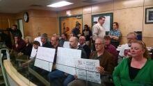 UNBC protest