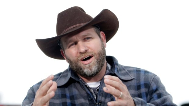 In a Tuesday, Jan. 5 file photo, Ammon Bundy speaks during an interview at Malheur National Wildlife Refuge, near Burns, Ore. Ammon and his brother Ryan were denied bail on Friday.