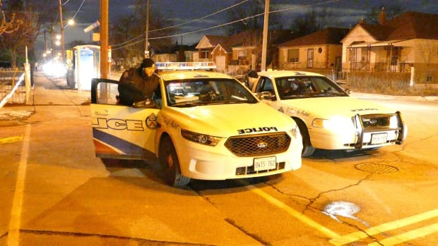 Toronto police say one man is dead after being shot inside a home near Playfair and Caledonia on Friday night.