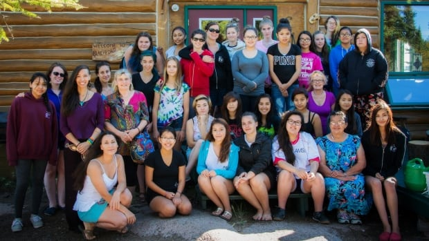 FOXY peer leaders and facilitators during one of the 2015 FOXY peer leader retreats.