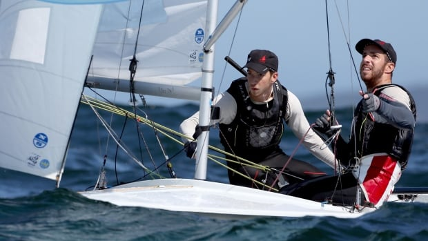 Nova Scotian brothers Jacob and Graeme Saunders won one of last available Olympics spots in the men's 470 event at the 2016 ISAF World Cup in Miami, Fla.