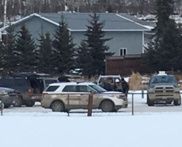Police at Charlie Lake B.C. home