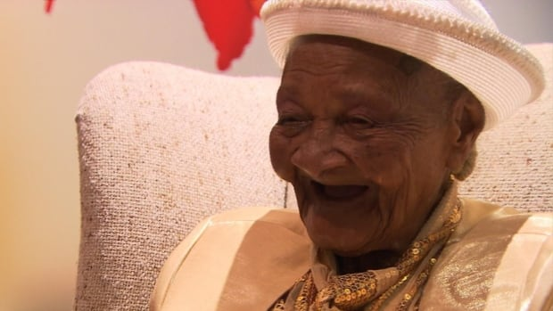 Cicilia Laurent celebrated her 120th birthday at the Haitian Consulate in downtown Montreal on Sunday.