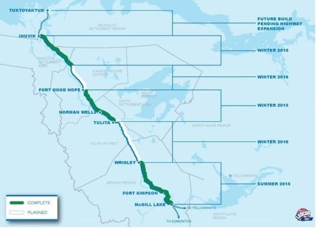 Mackenzie Valley fibre link progress