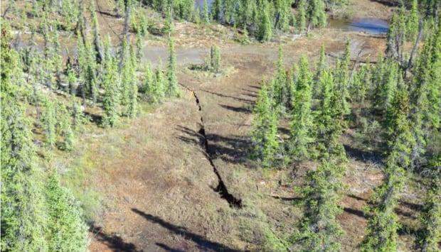 Mackenzie Valley fibre link trench