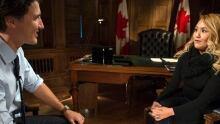 Justin Trudeau and Nikki Fraser