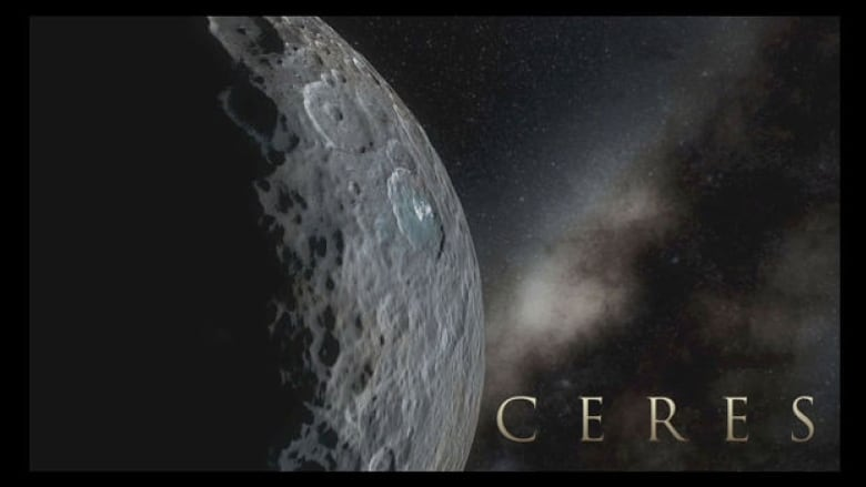 nasa shows what it s like to orbit the dwarf planet ceres cbc news