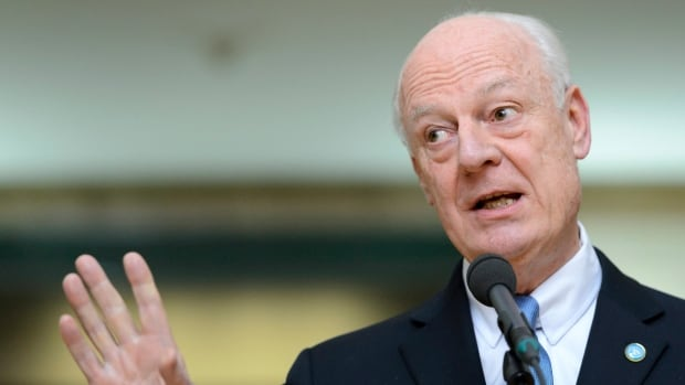 UN special envoy of the Secretary-General for Syria, Staffan de Mistura, rescheduled a planned meeting in Geneva with the Syrian government delegation Monday morning because he wanted to hold an official meeting with the opposition before launching indirect talks.