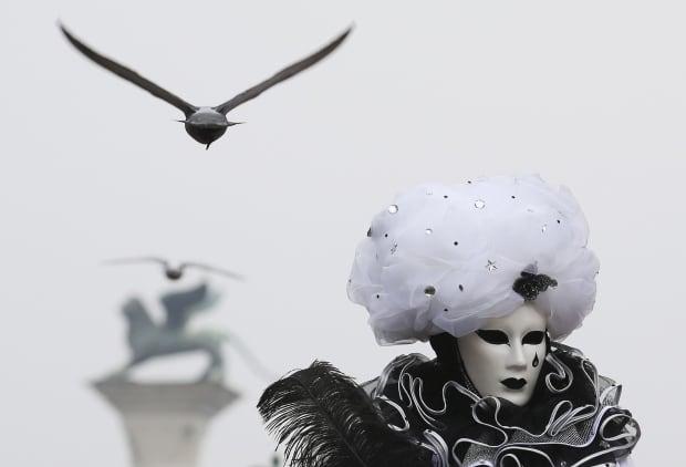 ITALY CARNIVAL Venice 2016 mask
