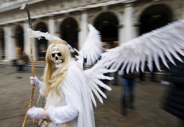 ITALY CARNIVAL Venice 2016 masks