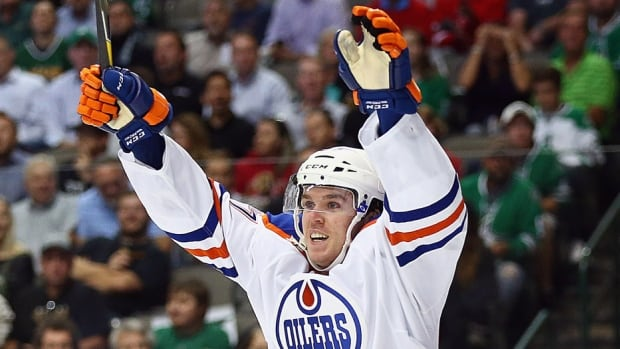 Oilers rookie Connor McDavid reportedly will return to the lineup on Tuesday night against Columbus, Edmonton's first game after the NHL all-star break. The 19-year-old centre hasn't played since breaking his left collarbone in a Nov. 3 game against Philadelphia when he fell awkwardly into the end boards. McDavid had 12 points in his first 13 games and was named the league's top rookie for October.