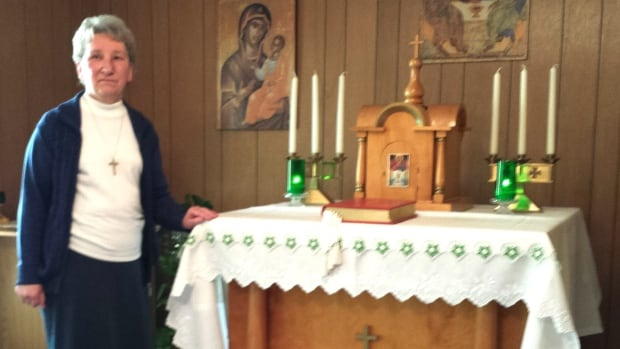 Sister Laura Prokop is the last nun at Calgary's St. Bernadette's convent.