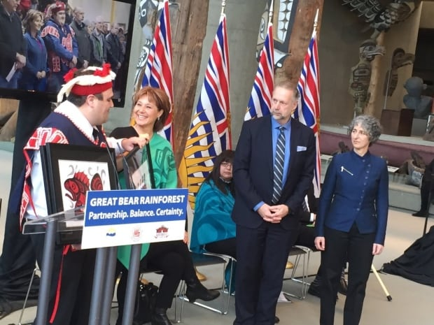 Christy Clark at GBR announcemetn