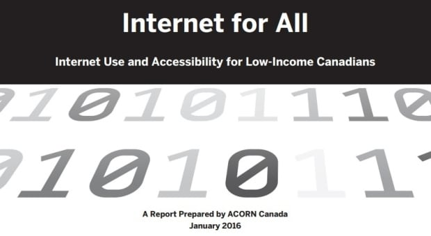ACORN internet report cover
