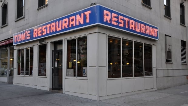 A full-scale replica of Monk's Cafe, the diner featured in Seinfeld, is coming to Toronto this summer. Pictured above is the exterior of the real-life Monk's, Tom's Restaurant, in New York City.