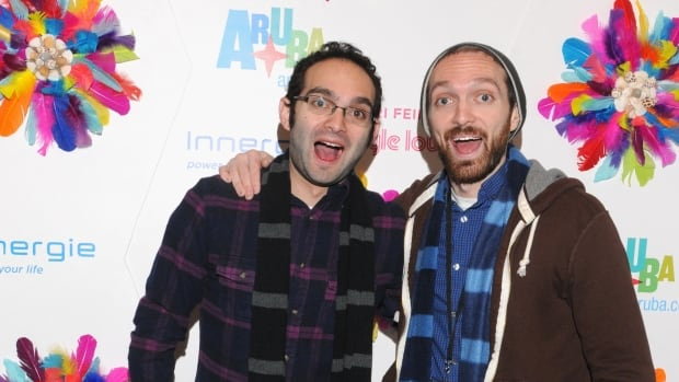 Benny Fine (left) and Rafi Fine own one of YouTube's most popular channels, Fine Brothers Entertainment. But the brothers were widely criticized online after trying to trademark the word 'react,' which eventually led them to rescind the request.