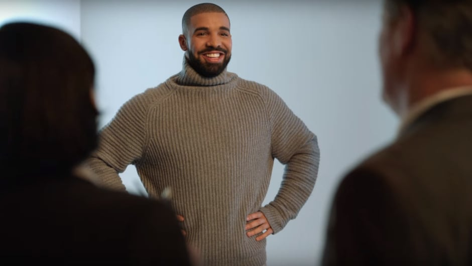 In an upcoming Super Bowl commercial, Drake 'dances' to his hit song Hotline Bling for U.S. telecom T-Mobile.