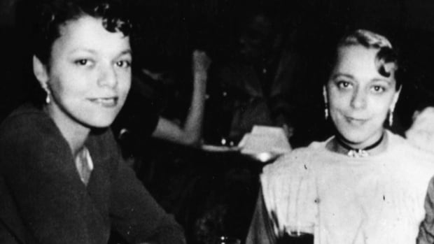 Halifax residents voted for the new ferry to be named after Viola Desmond. Desmond (right) is seen in this photo with her sister, Wanda.