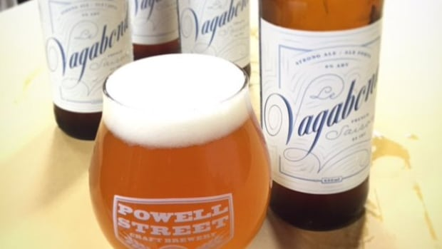 "Powell Street Brewing's Le Vagabond is one of Rebecca Whyman's picks this week. ""This little beauty features notes of strawberry, citrus and spice, finishing dry with the unique character of French saison yeast."""
