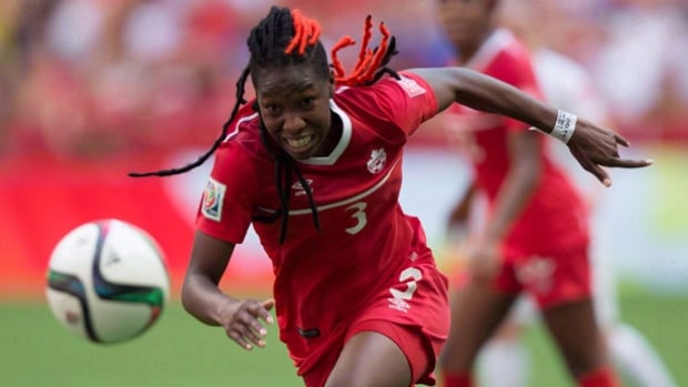 Kadeisha Buchanan, who was named Canadian women's soccer player of the year for 2015, will try to help Canada reach the Rio Olympics via a qualifying tournament in Houston starting on Feb. 11.