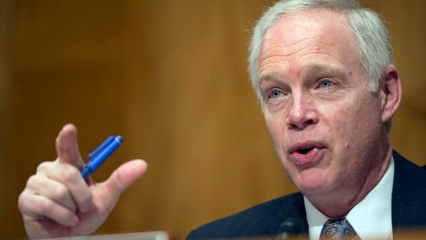 Senate Homeland Security and Government Affairs Committee Chairman Senator Ron Johnson asked whether Canada will take 'shortcuts' as it looks to resettle 25,000 Syrian refugees over a period of four months, during a hearing on Tuesday, Feb. 2, 2016, on Capitol Hill in Washington.