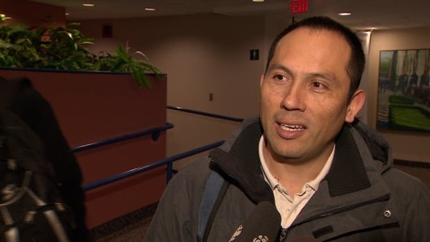 Hugo Penagos lost his oil patch job last June and says he may have to leave the province to find work.