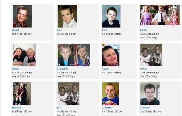 AHS adoption profile screenshot