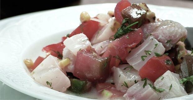 Lionfish dish