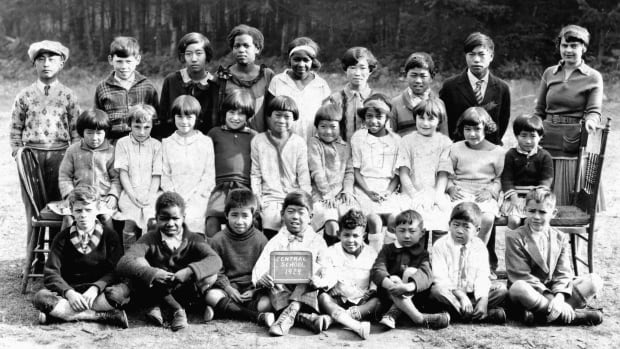 This 1929 class photo from salt Spring Island's Central School shows an impressive degree of diversity.