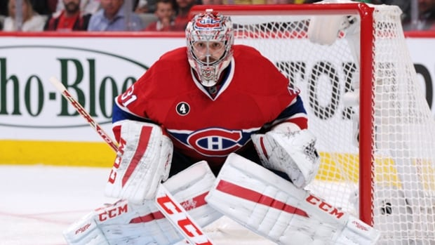 Carey Price has watched the Montreal Canadiens plunge down the standings while he's been out of action since Nov. 25.