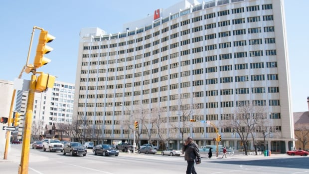 SaskPower's head office in downtown Regina is one of the city's most familiar sights.