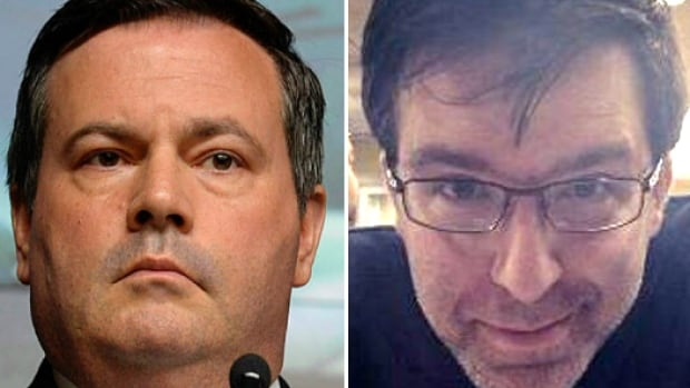 Conservative MP Jason Kenney, left, and American Jason Kenney, right.