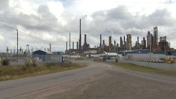 About 150 workers from the refinery met Wednesday night in Arnold's Cove to discuss their concerns.