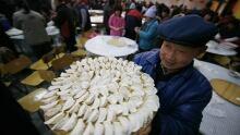 China New Year Dumplings