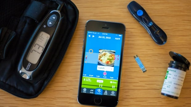 The Bant app helps diabetics monitor their health data.