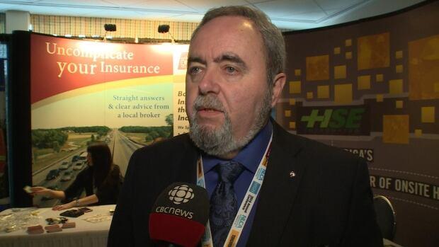Newfoundland and Labrador Construction Association Chair Ed Legrow