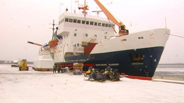 The port in Happy Valley-Goose Bay is operating at about 25 per cent capacity, according to Peter Woodward. He envisions shipping freight, passengers, and vehicles up to Iqaluit by 2020.